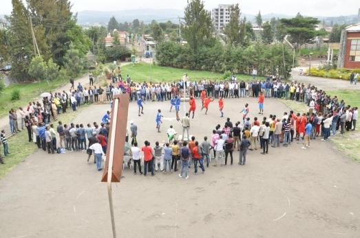 ECSU Community Celebrates Ginbot 20
