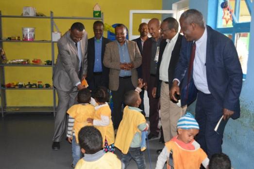 ECSU Management Vists Selam Children`s Village