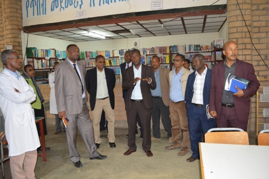 ECSU Management Vists Selam Children`s Village