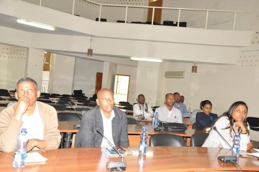 Training and Consultancy Wing Organizes Discussion program