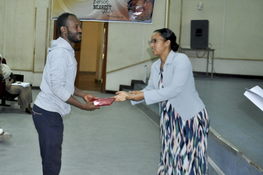 Gender and HIV/AIDS Issue Directorate organizes Training4