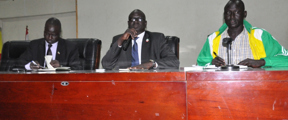 Gambela Regional State President holds Discussion