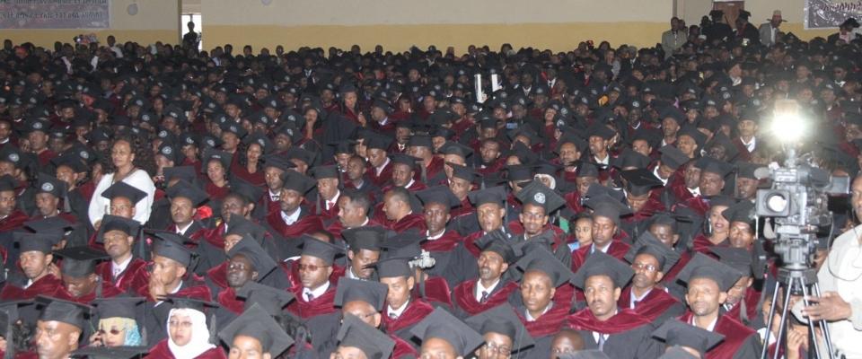 Ethiopian Civil Service University Graduates Students