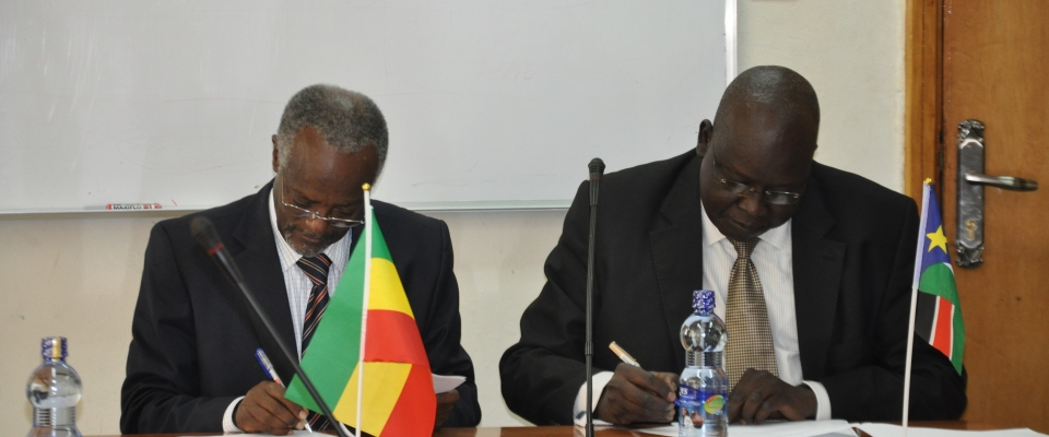 ECSU Signs Mou With Republic Of South Sudan