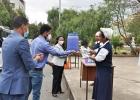 Ministerial Committee for Corona Prevention Visited ECSU
