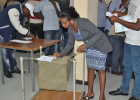ECSU Students Cast Their Votes In The 5th National Election